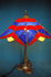 五角形型ランプ(夏の海・夕波)